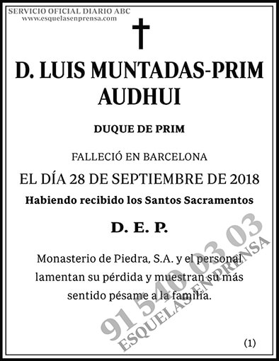 Luis Muntadas-Prim Audhui